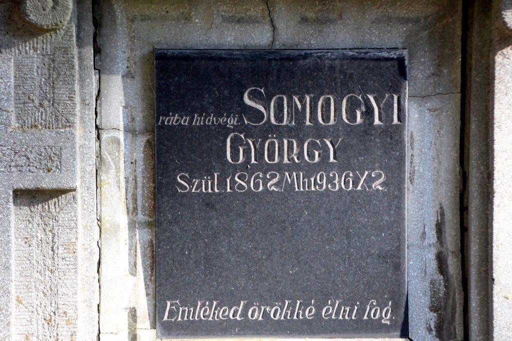 Somogyi György sírboltja