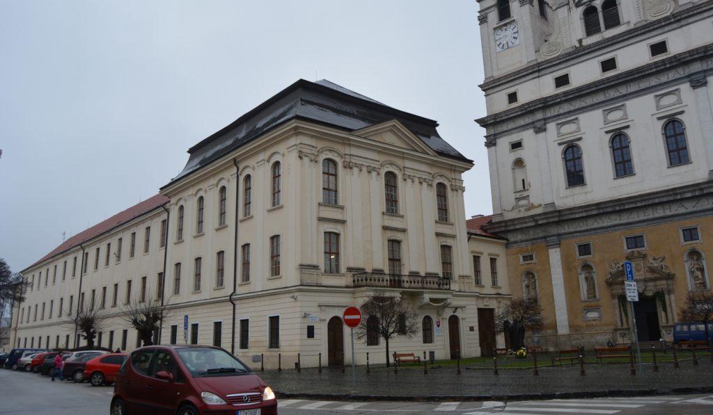 Az egykori nagyszombati egyetem