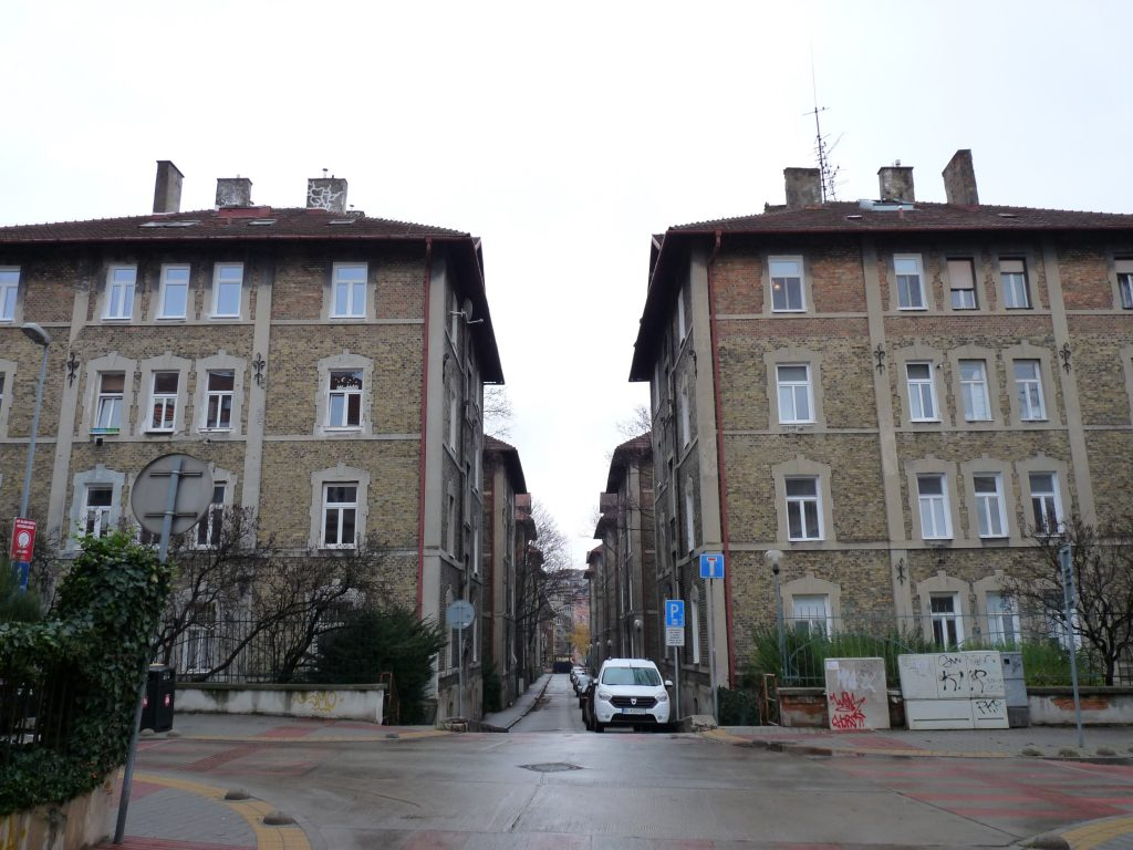Városi  munkásházak (Tízházak, Zehnhaus)