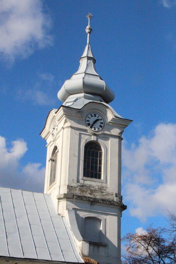 Református templom Kisújfaluban