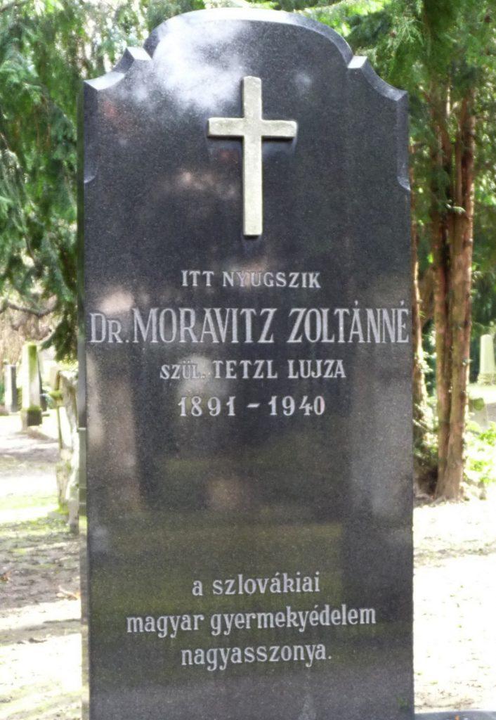 Moravitz Zoltánné sírja