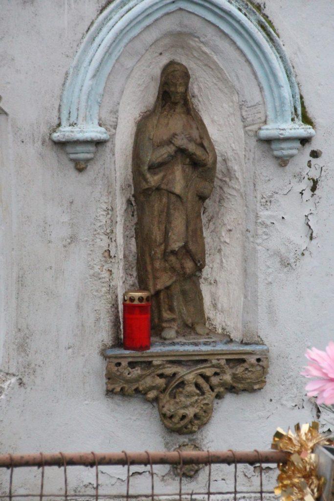 Útmenti kereszt Egyházfa mellett