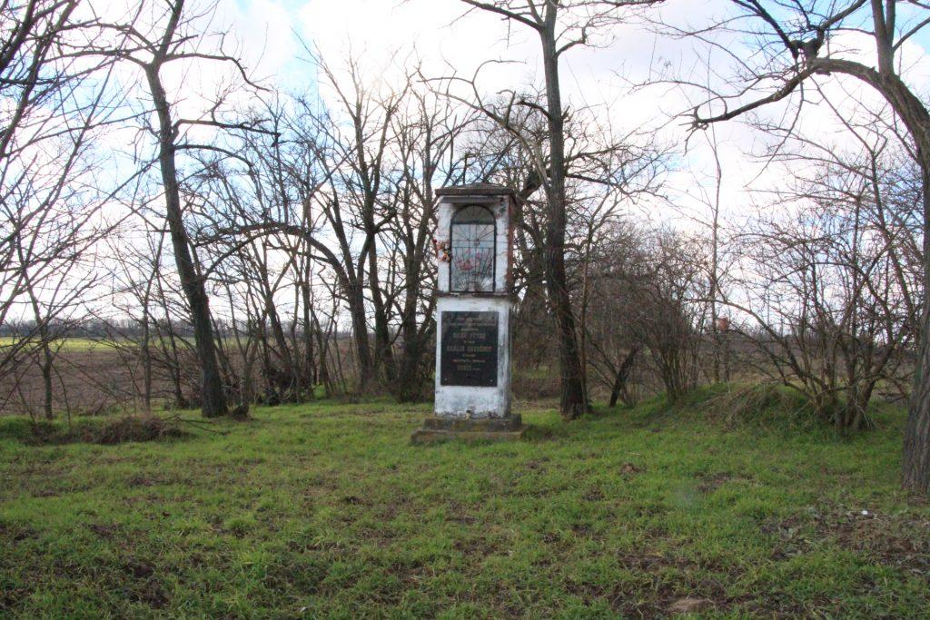 Képoszlop Bagota határában
