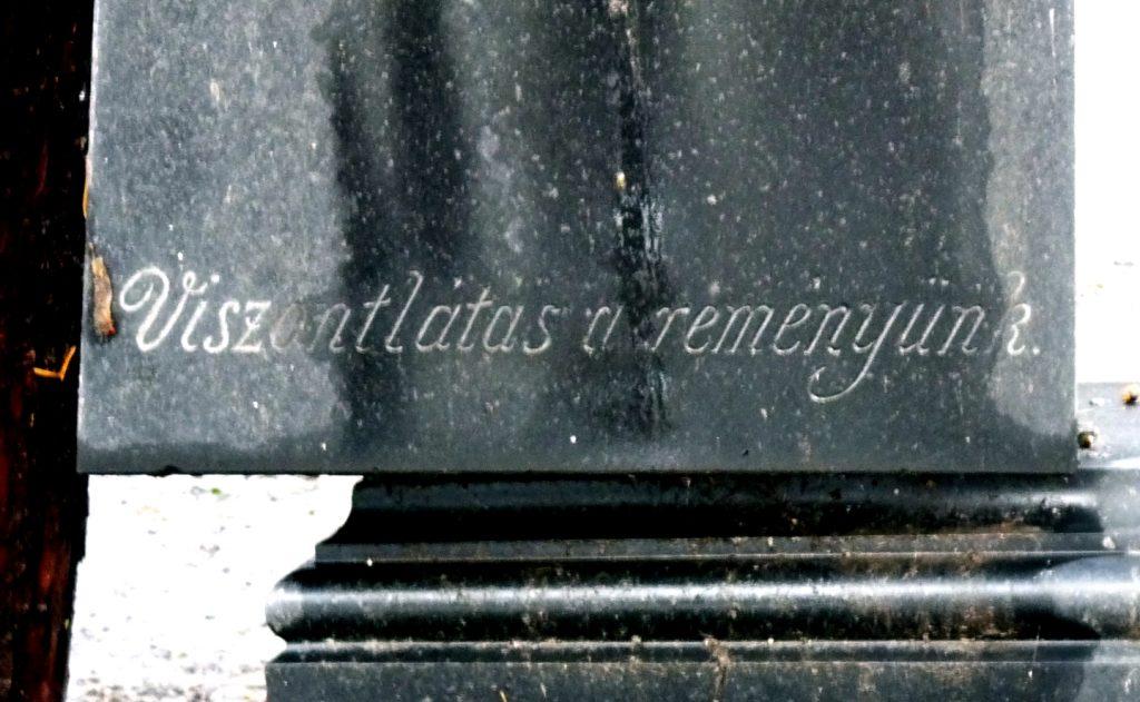 Mangold Lajos síremléke