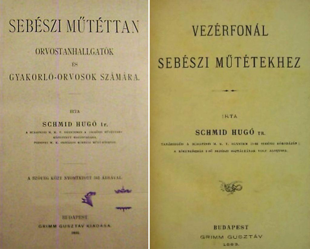 Dr. Schmid Hugó síremléke