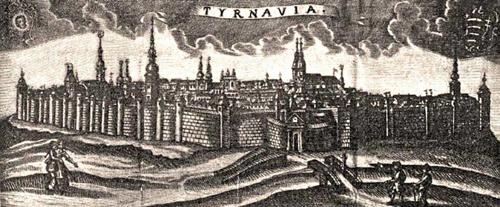 Nagyszombat városfala