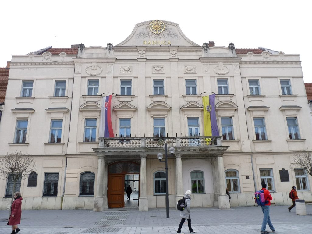 A nagyszombati városháza