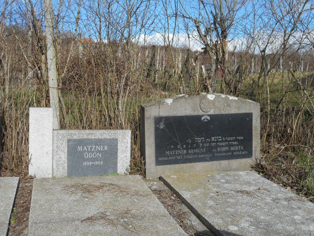 Zsidó temető Ipolynyéken
