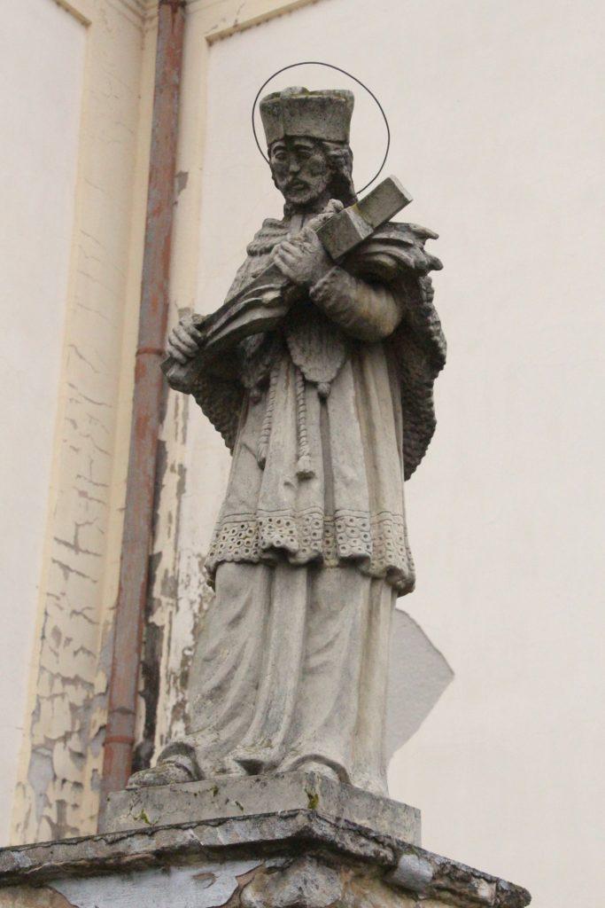 Nepomuki Szent János szobor Párkányban