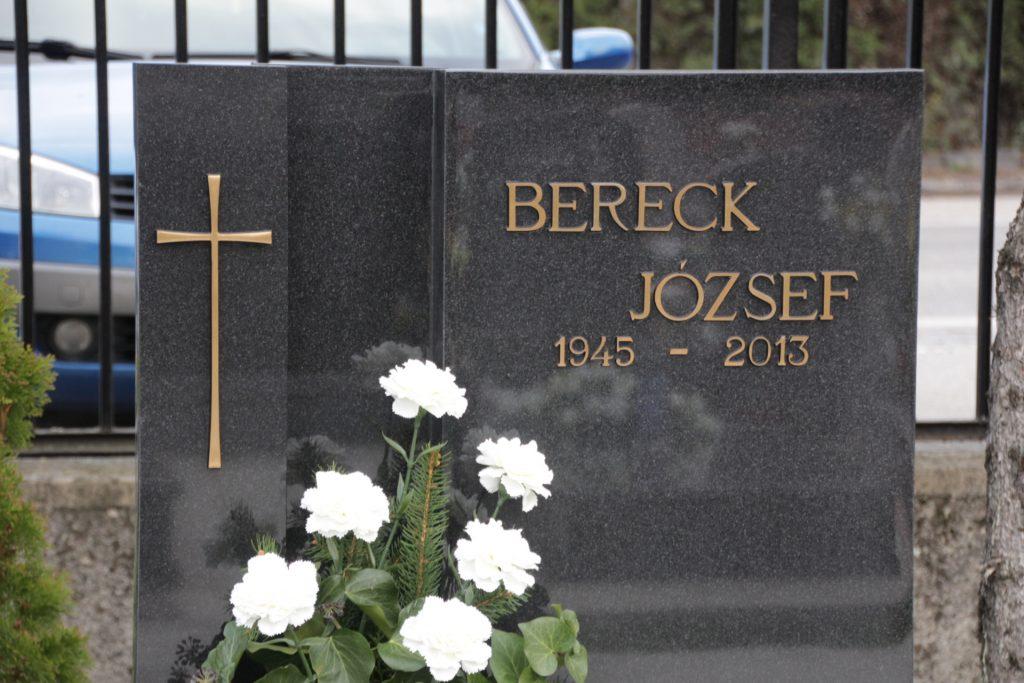 Bereck József sírja
