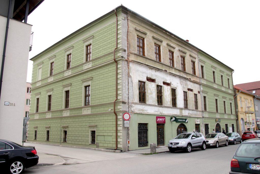 Az Egyesült Protestáns Gimnázium (régi gimnázium) épülete