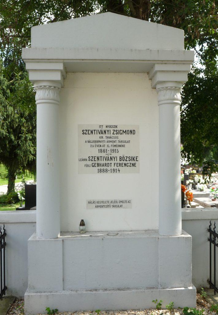 Szentiványi Zsigmond sírja