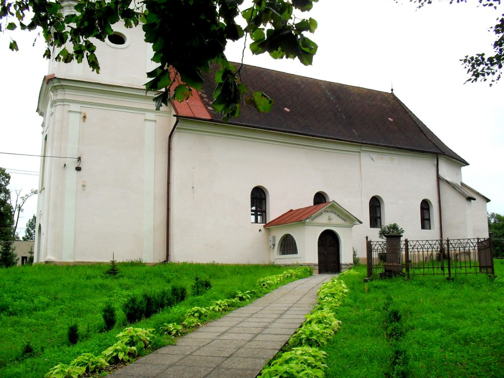 Református templomGicén