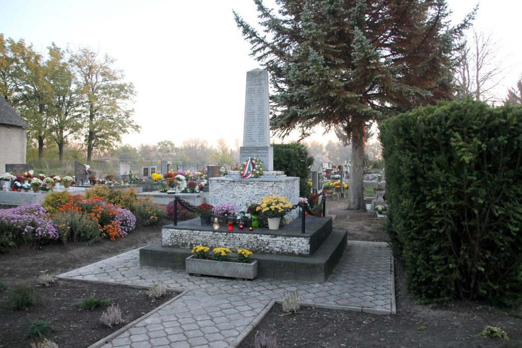 A 2. világháborúban elesettek emlékműve