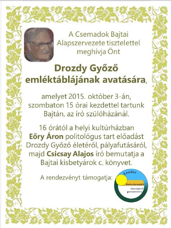 bajta_drozdy_gyozo_emlektabla_avatas