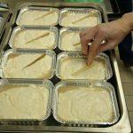 A sütésre előkészített kőtés