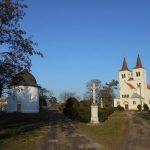 Az apátsági templom és a körtemplom