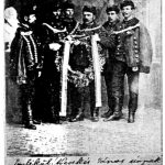 Szekeresgazda küldöttség a Jókai-emléktábla leleplezésén 1881-ben