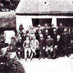 A Nagymegyeri Tűzoltóegyesület vezetősége 1886-ban