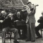 Hátsó sor balról jobbra:  Jelasics Vilmos, Keszegh Károly, Keszegh Ernő Elöl balról jobbra:  Bölcskei László, Gaál Sándor, Petőcz Gyula