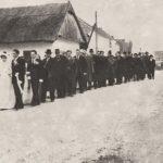 Esküvői menet Kulcsodon