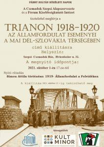 TRIANON 1918-1920 kiállítás