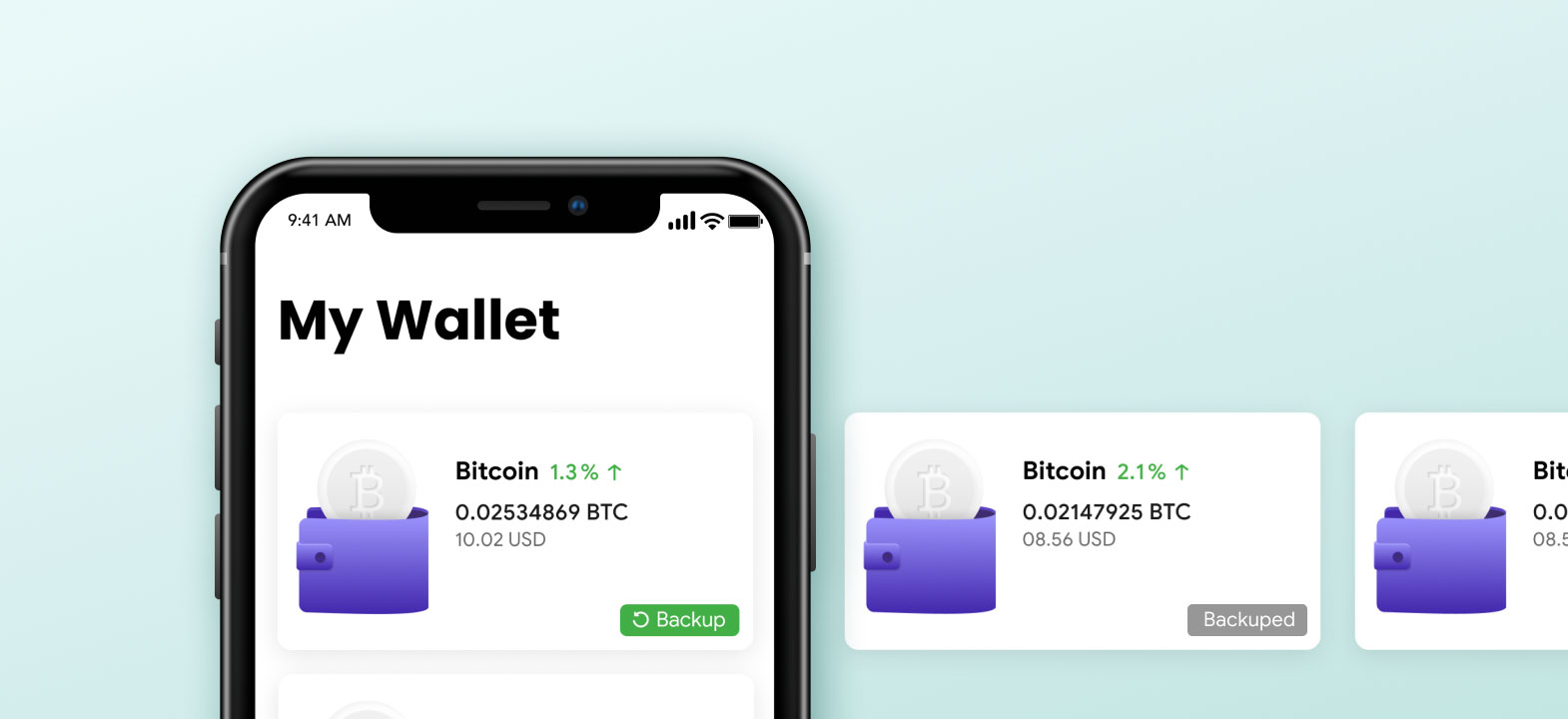 How to backup crypto wallet