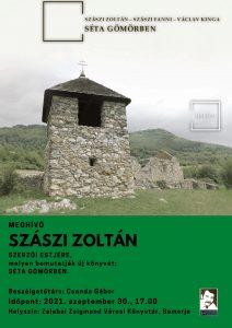 Szászi Zoltán szerzői estje