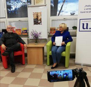 Literárne stretnutie s Jánom Uličianskym