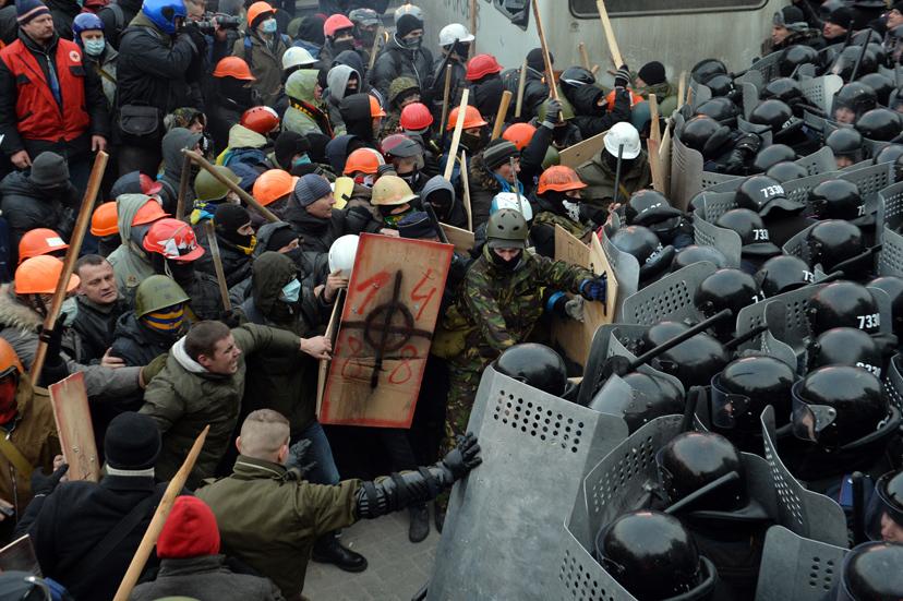 Kijevi zavargások
