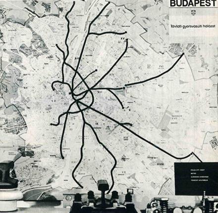 Budapest metróterv