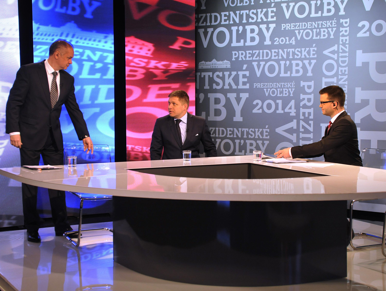 Az RTVS vitaműsorában