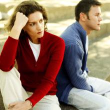 ik wil scheiden maar mijn man niet