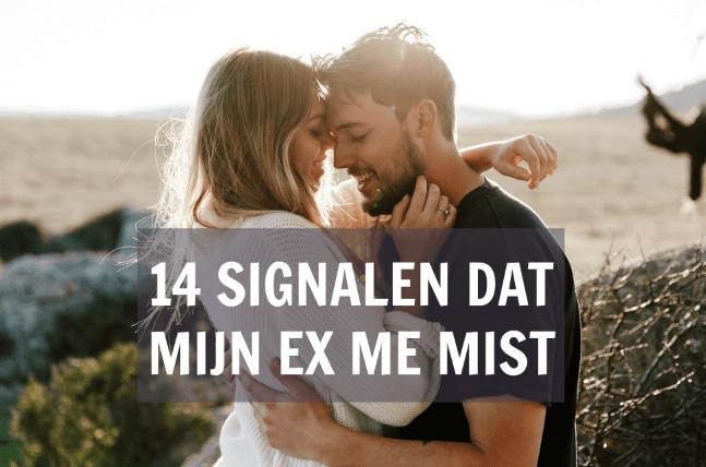 signalen dat mijn ex me mist