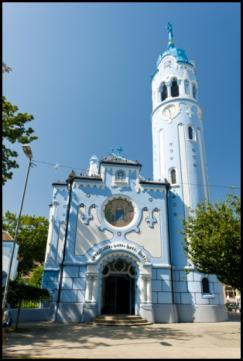 Modrý kostolík/Kostol sv. Alžbety
