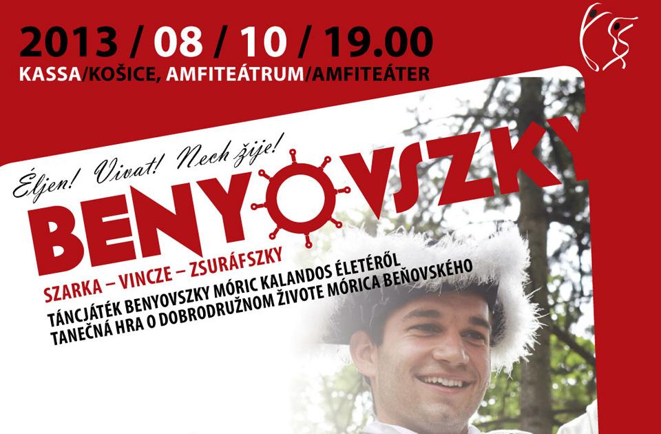 Benyovszky v Košiciach