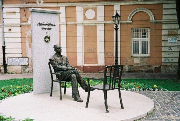 Socha Sándora Máraiho v Košisiach
