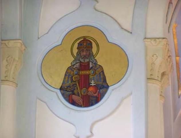 Obraz Sv. Štefana v Modrom kostolíku
