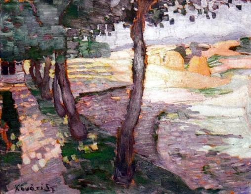 Kővári-Kacsmarik Szilárd, Kálvária, 1912