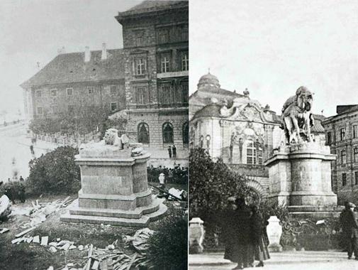 Súsošie kráľovnej zničili českí legionári v noci z 26-27. októbra 1921