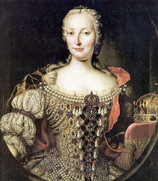 Portrét Márie Terézie