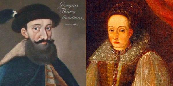Palatín György Thurzó a Erzsébet Báthory
