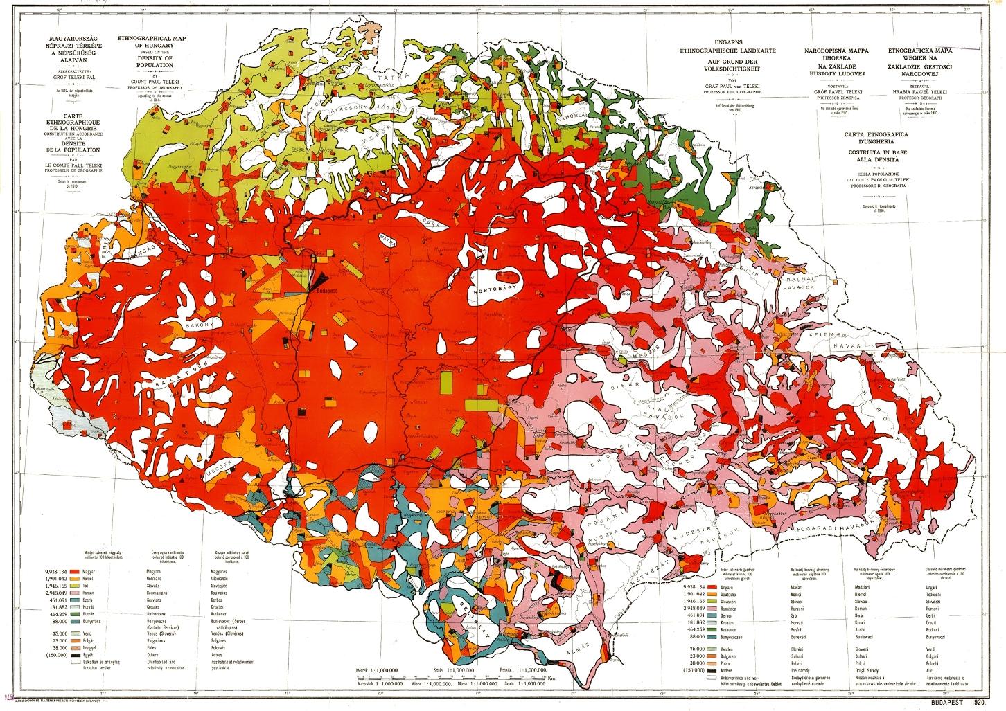 "Známa ""červená mapa"" grófa Telekiho"