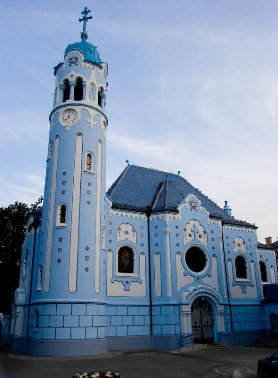 kép-Lechner-Ödön-Szent-Erzsébet-Kék-templom-Pozsonyban