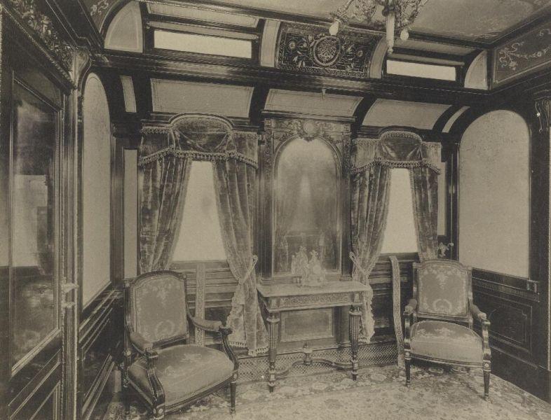 Privítacia miestnosť určená cisárovnej Alžbete-Sissi.