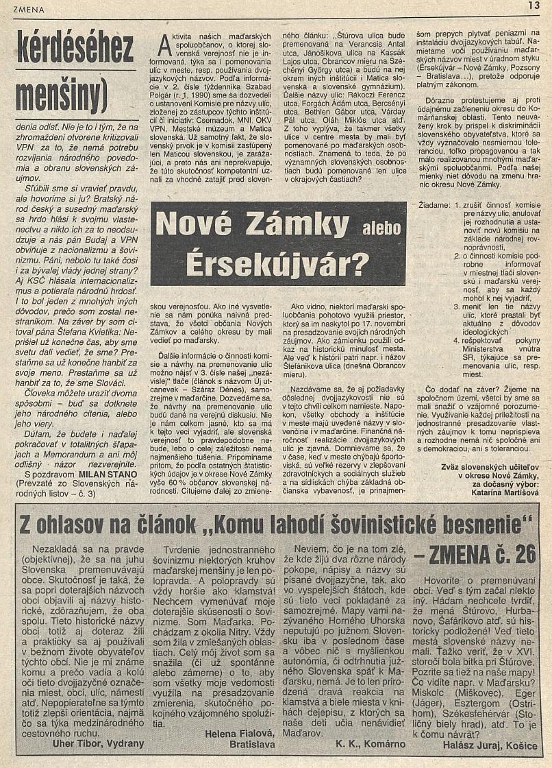 Zmena č. 15/08.04.1990