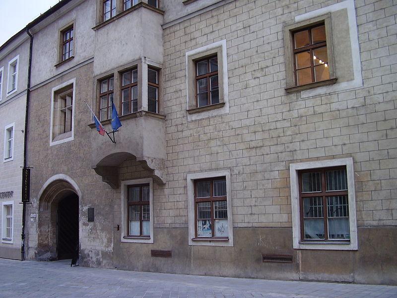 Academia Istropolitana v dnešnej Bratislave (FOTO: Wikipédia)
