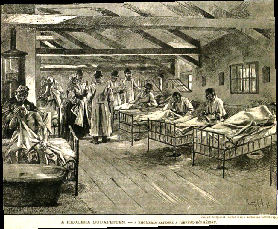 Kolera kórház VU1892