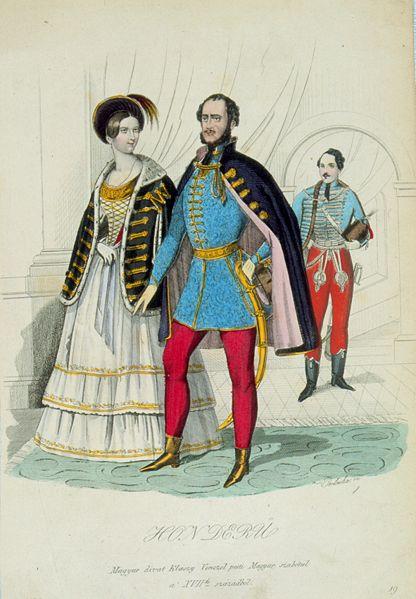 Zlatou érou módneho časopisu Honderű bol rok 1844, kedy jeho najsilnejšou stránkou sa stala krásna literatúra. Vydávanie časopisu sa ukončilo 2. apríla 1848.