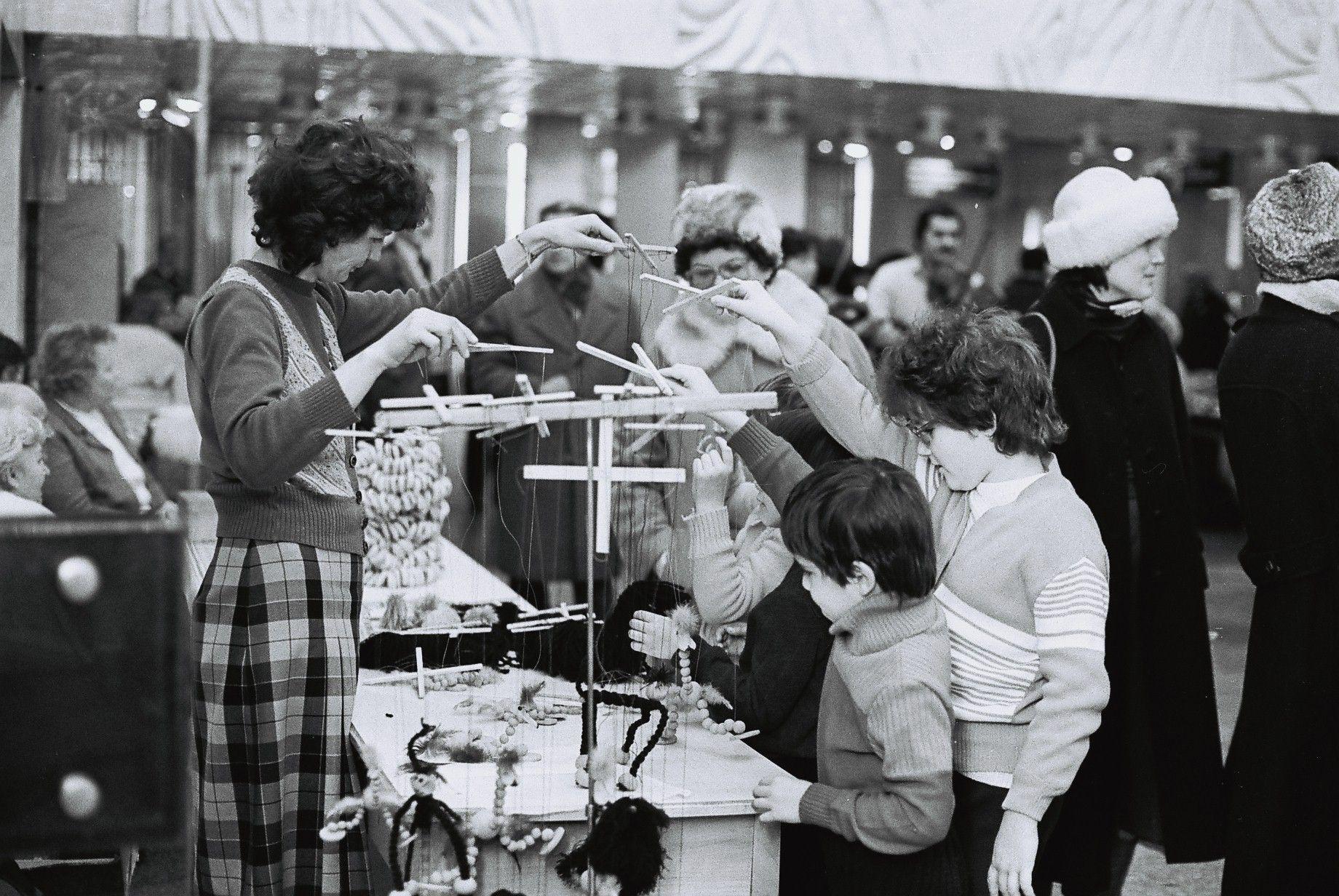 Vyberanie hračiek, Debrecín, 1983.